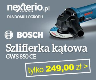 Szlifierka kątowa GWS 850CE tylko 249zł
