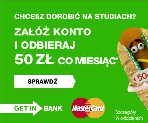 Getin Bank - konto Student